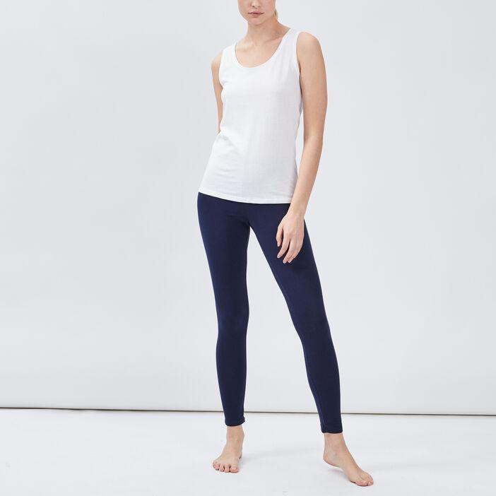 Legging taille standard femme bleu marine