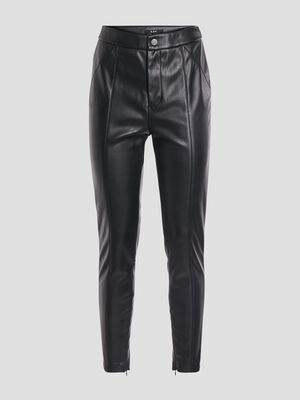 Pantalon skinny city noir femme
