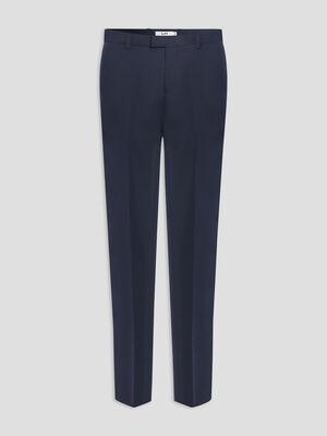 Pantalon de costume bleu marine homme