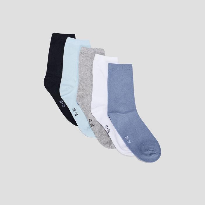 Chaussettes garçon multicolore