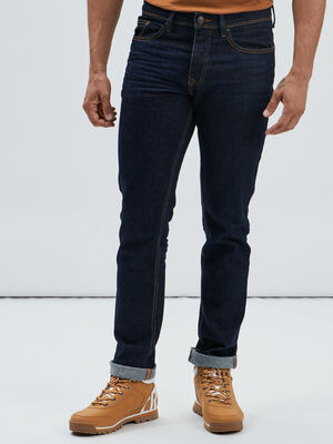 Jeans regular denim brut homme
