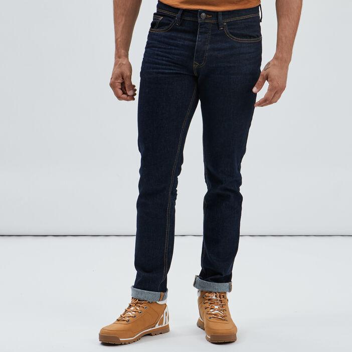 Jeans regular homme denim brut