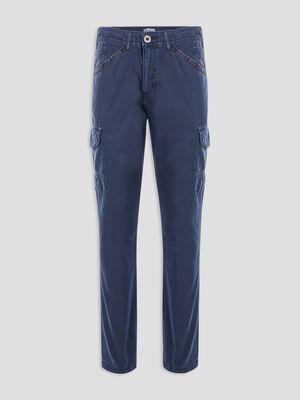 Pantalon regular bleu marine homme