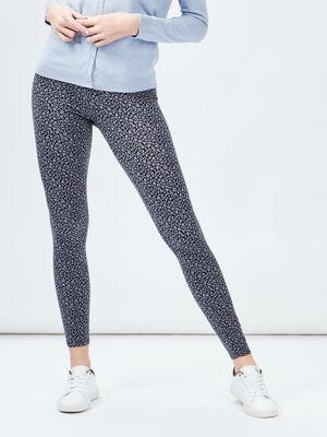 Leggings gris fonce femme