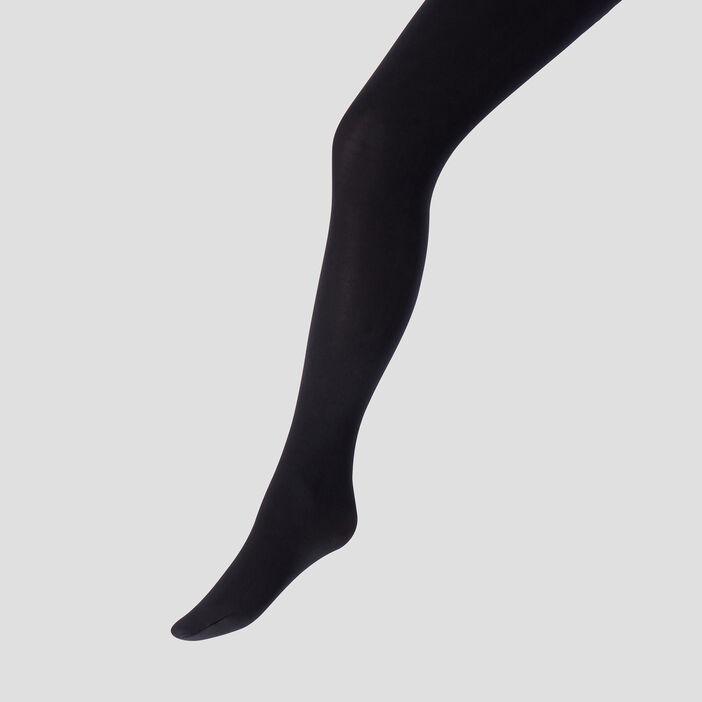 Collants opaques femme noir