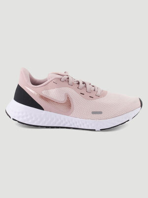 Baskets Nike legeres a lacets rose femme