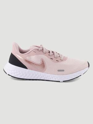 Baskets Nike legeres a lacets rose femme