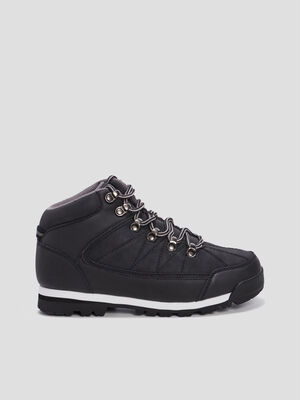 Bottines crantees Liberto noir garcon