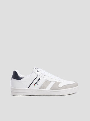 Baskets tennis Lotto blanc homme