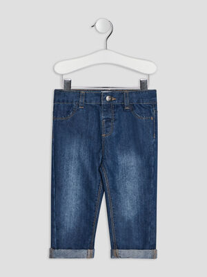 Jeans regular denim stone bebeg