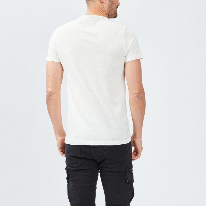 T-shirt Trappeur homme ecru