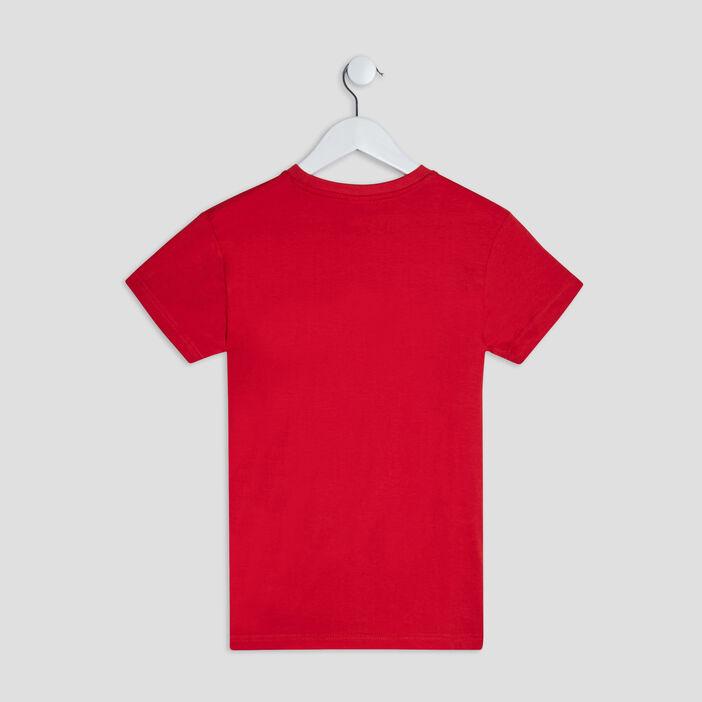 T-shirt Redskins garçon rouge
