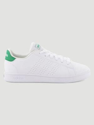 Tennis Adidas ADVANTAGE blanc garcon