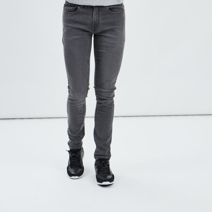 Jeans skinny homme gris