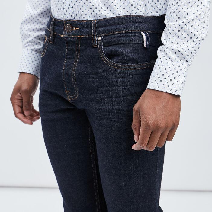 Jeans straight Creeks homme denim brut