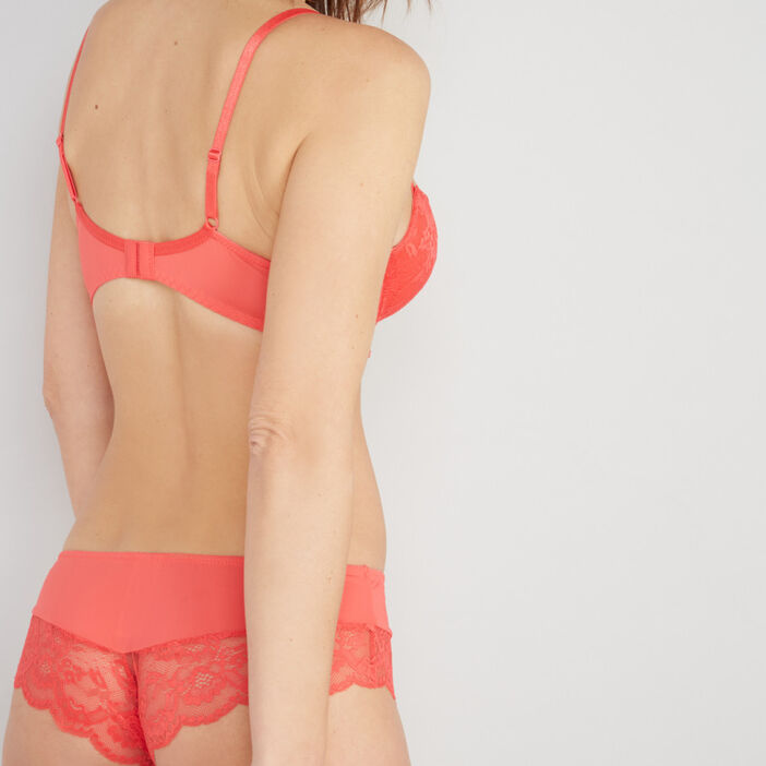 Culotte shorty femme orange
