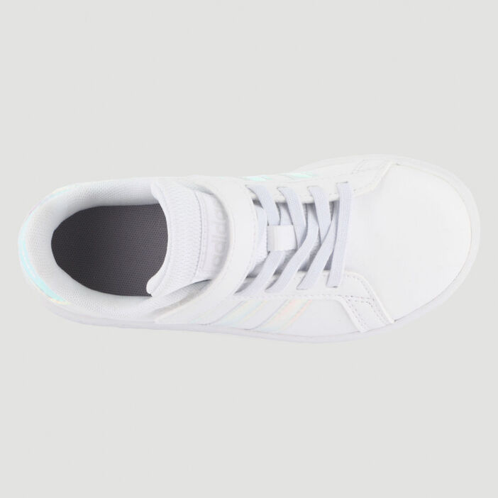 Tennis Adidas GRAND COURT garçon blanc