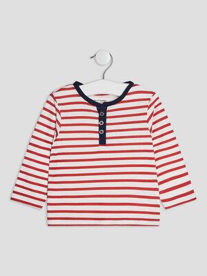 T shirt Pat et Ripaton rouge bebeg