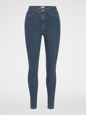 Jean skinny taille haute denim dirty femme