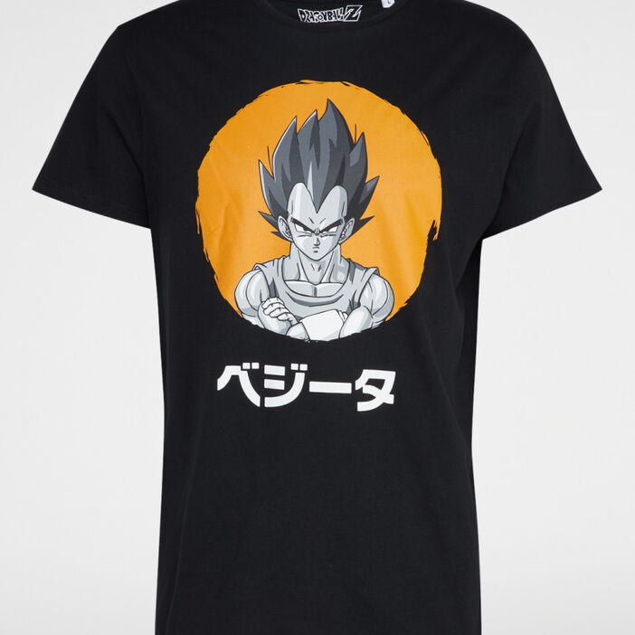 T-shirt coton DRAGON BALL Z homme noir