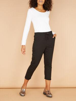 Legging uni 78 noir femme