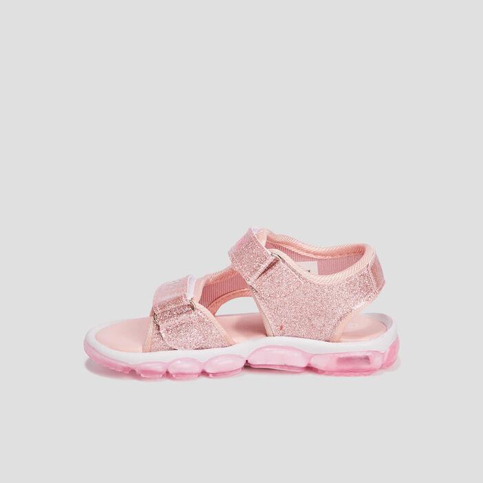 Sandales Les Aristochats fille rose