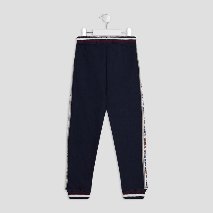 Pantalon jogging Harry Potter garçon bleu marine