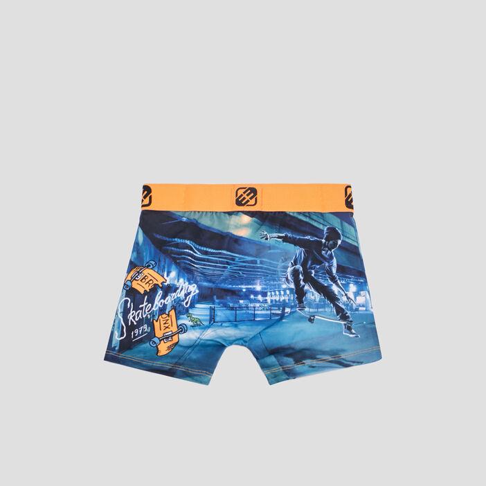 Boxer Freegun garçon orange