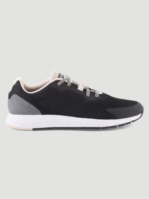 Runnings dessus textile Adidas Sooraj noir femme