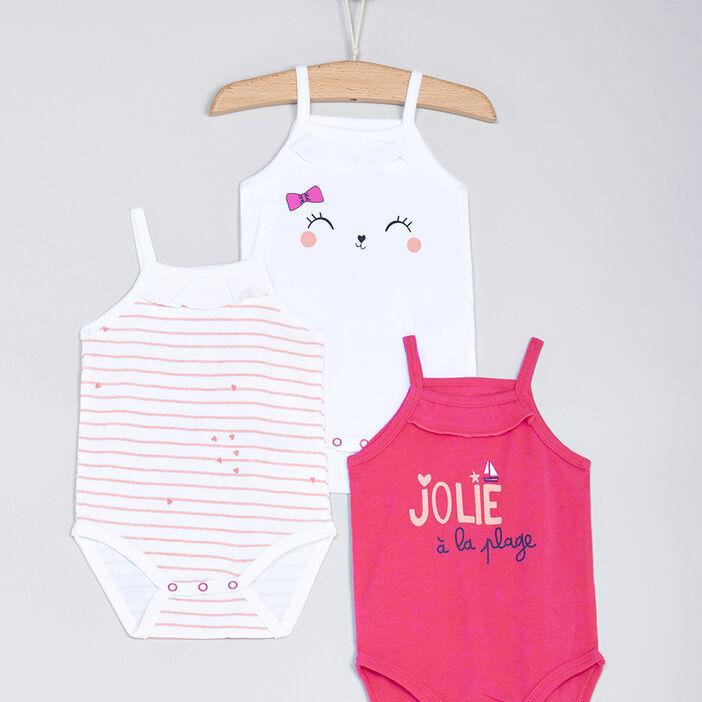 Sous-vêtement, Lingerie bébé bébé fille rose