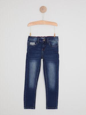 Jean skinny effet use denim dirty garcon