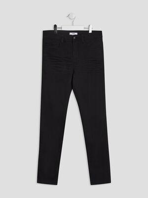 Pantalon skinny stretch noir garcon