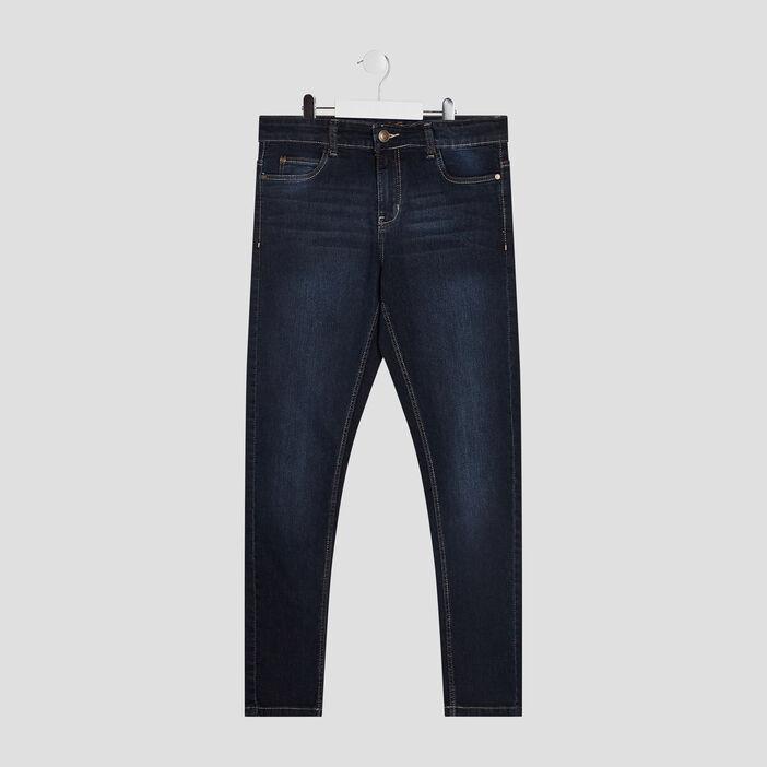 Jeans skinny garçon denim double stone