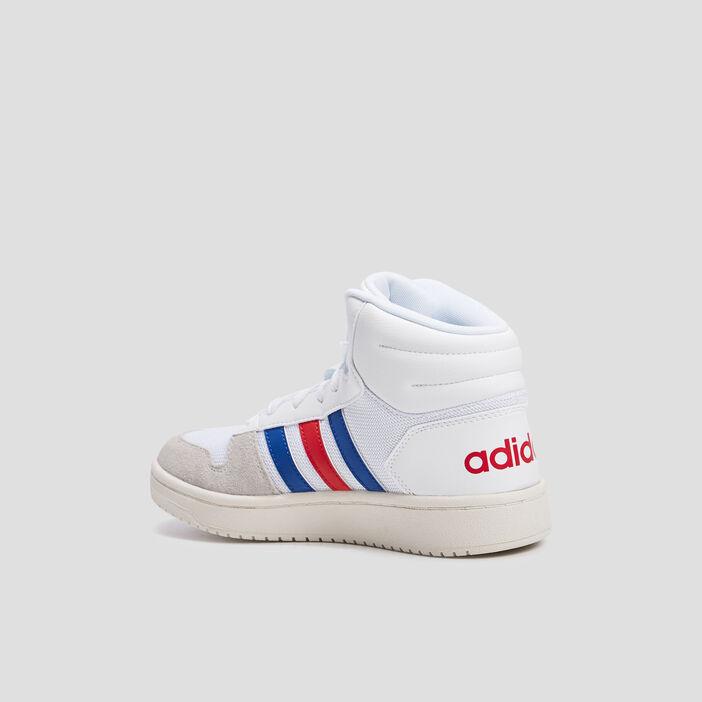 Baskets montantes Adidas garçon blanc