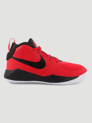 Baskets Nike TEAM HUSTLE rouge garcon