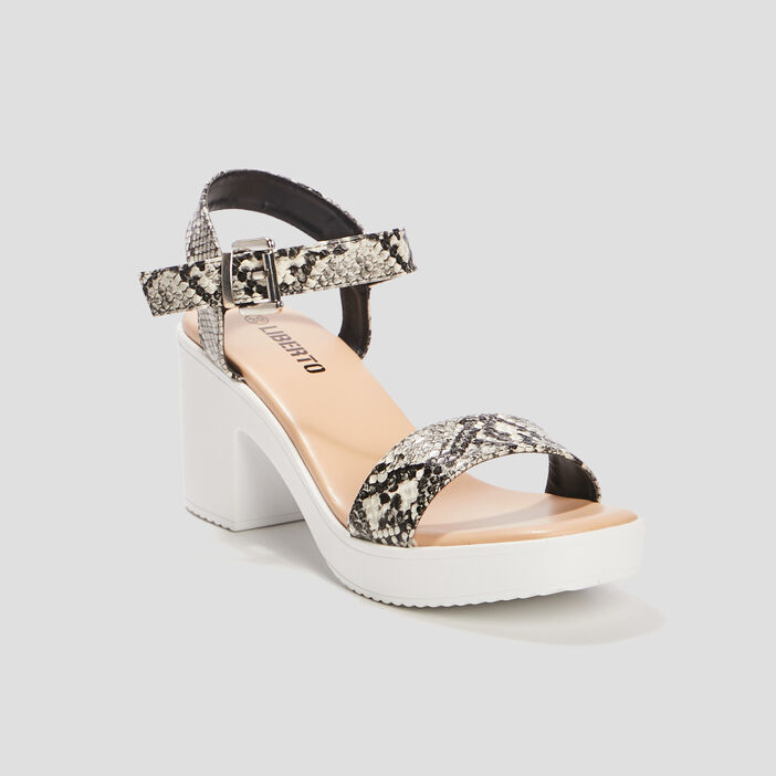 Sandales à talons Liberto femme multicolore
