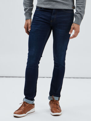 Jeans slim stretch denim brut homme