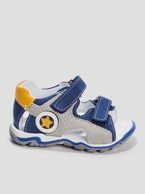 Sandales bleu bebe