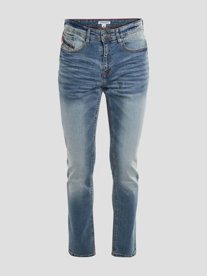 Jeans regular stretch Creeks denim double stone homme