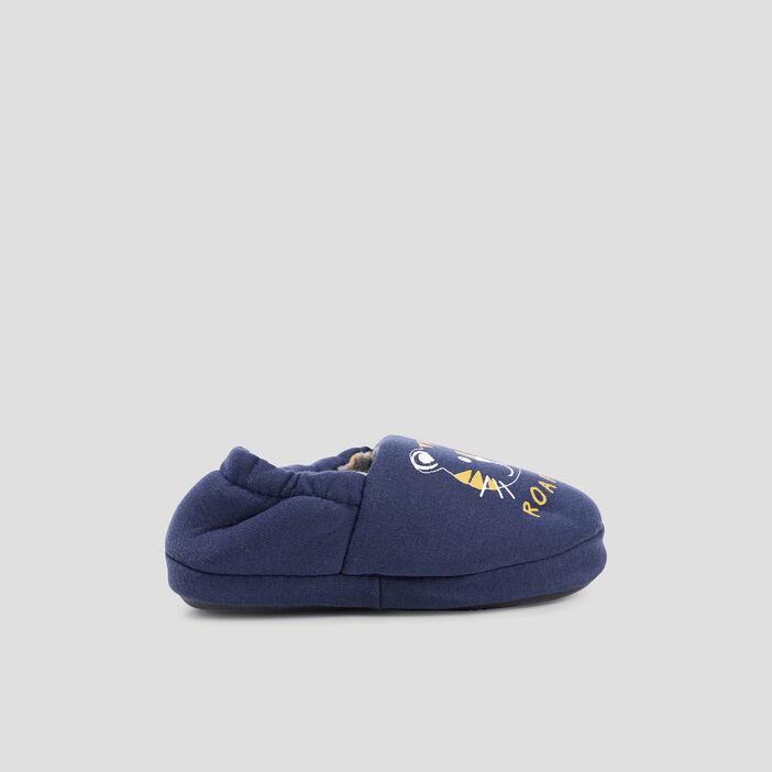 Chaussons  bleu marine