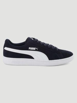 Tennis cuir Puma SMASH V2 SD bleu garcon