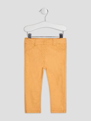 Pantalon jaune moutarde bebef