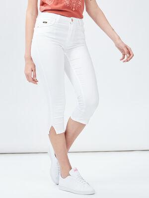 Jeans slim 78eme blanc femme
