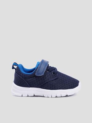 Baskets running bleu bebeg