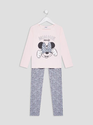 Ensemble pyjama Minnie rose fille