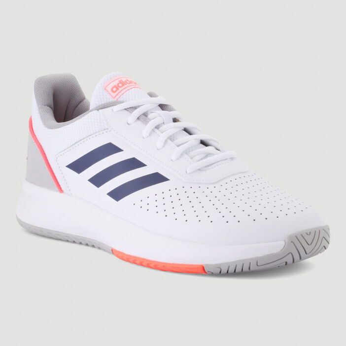 Runnings Adidas COURTSMASH homme blanc