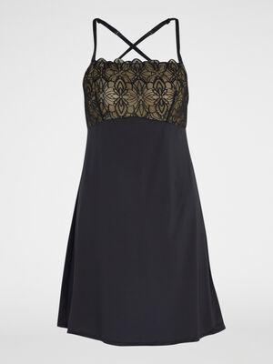 Nuisette Pyjama noir femme