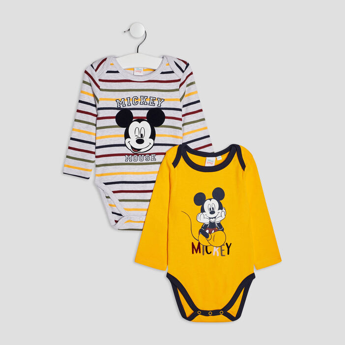 Body Mickey mixte multicolore