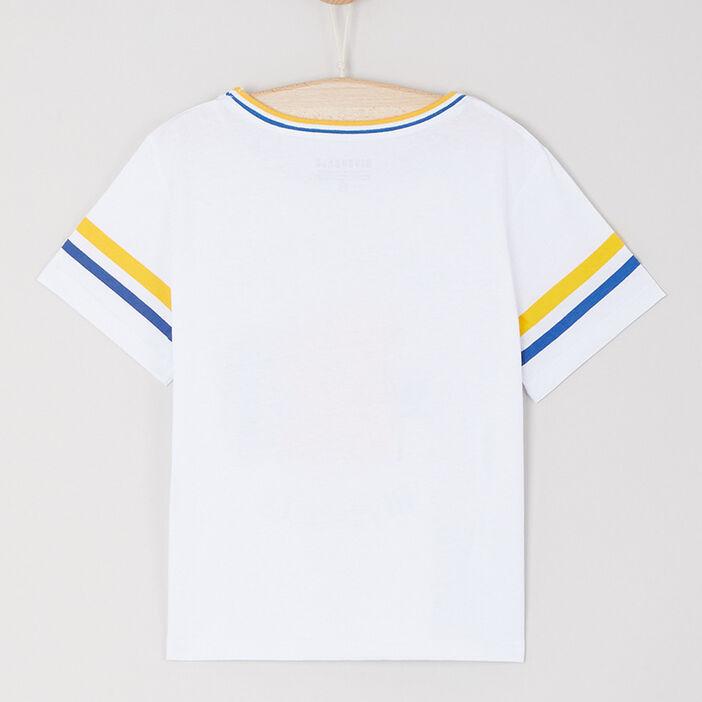 T-shirt Riverdale coton fille blanc