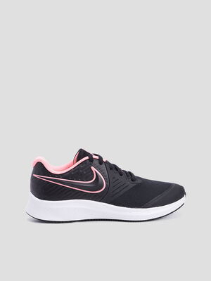 Baskets running Nike noir fille